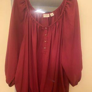 Plus size cato blouse